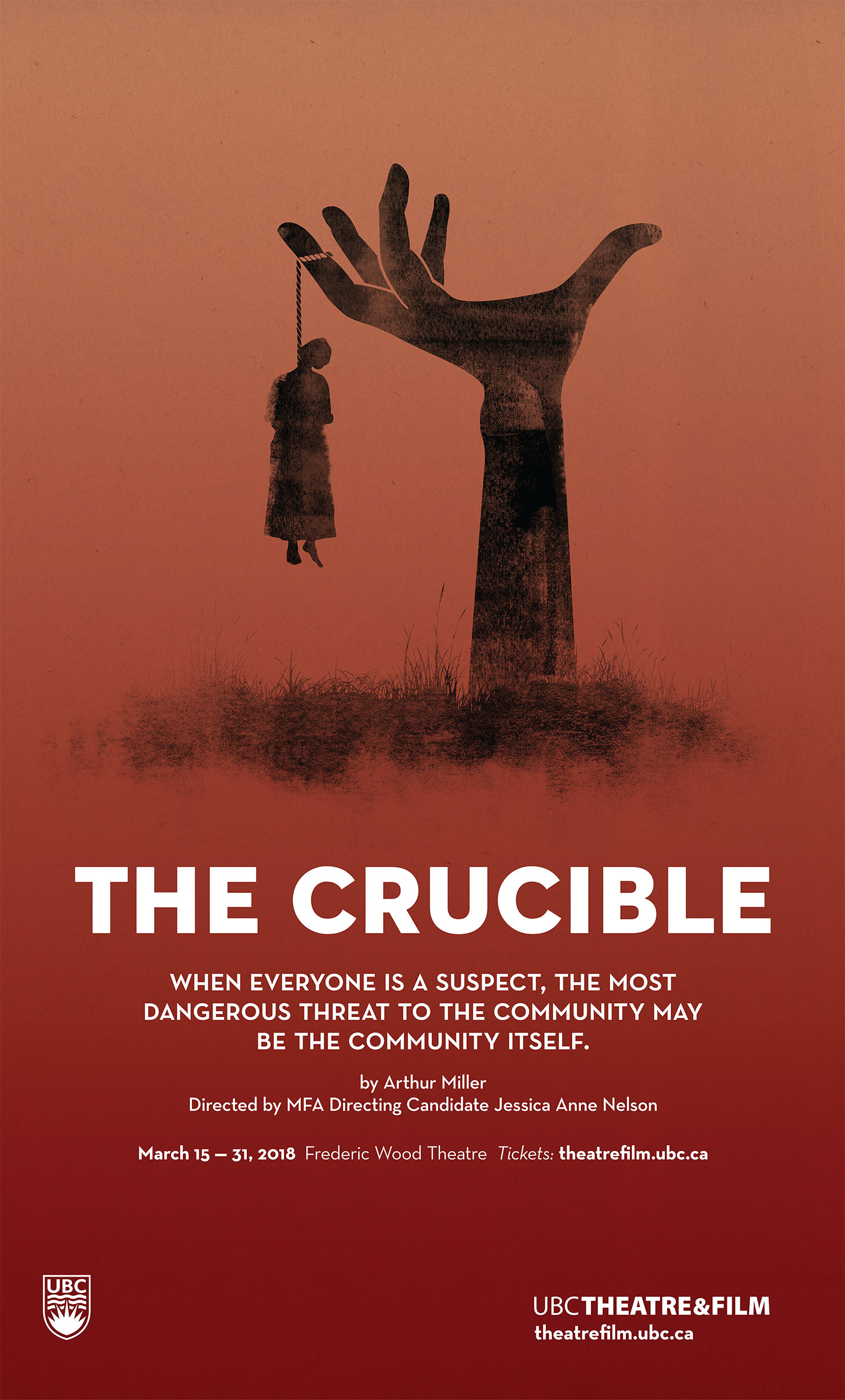 The Crucible By Arthur Miller Presented By The Department Of Theatre