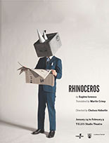 Theatre at UBC Study Guide for Rhinoceros