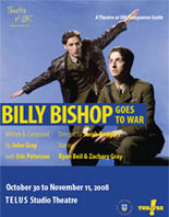 Theatre at UBC Study Guide for Billy Bishop Goes to War