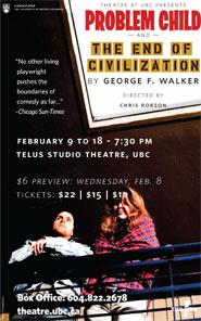 Department of Theatre and Film at UBC | Theatre at UBC | Problem